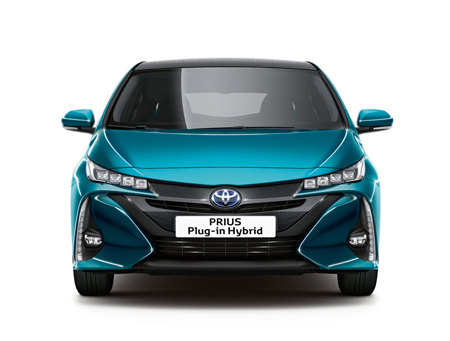 Toyota Prius Hybride Rechargeable face