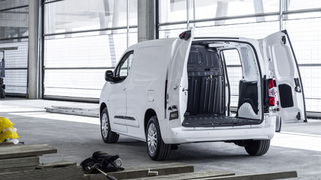 Toyota Proace City chargement